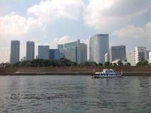Река Sumida в токио стоковые изображения rf