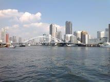 Река Sumida в токио стоковая фотография