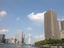 Река Sumida в токио стоковое изображение