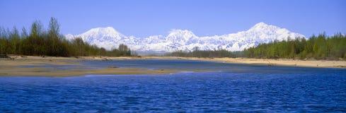 Река Susitna стоковое изображение rf