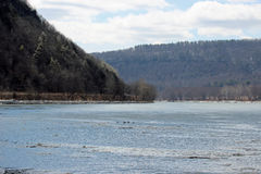Река Susquehanna Стоковые Фотографии RF
