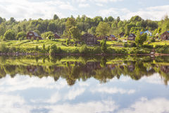 Река Svir Karelia Россия стоковое фото