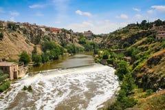 Река Tagus в Toledo Стоковое Изображение