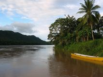 Река Tarapoto Urubamba, Перу Стоковое Изображение