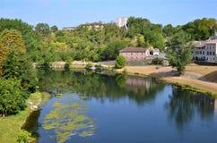 река tarn gaillac Франции Стоковые Фотографии RF