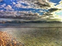 Река Tejo Стоковое Изображение RF