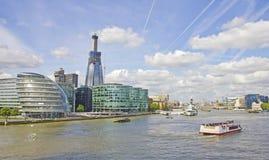 река thames london стоковые изображения rf