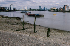 река thames london Стоковые Фото