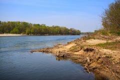 Река Ticino Стоковое Фото