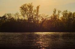 Река Ticino Стоковые Фото