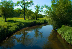 река trent Стоковые Изображения RF