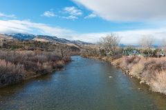 Река Truckee Стоковые Изображения RF