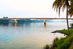 Река Tuxpan, Мексика стоковые фотографии rf