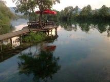 Река Una, Босния 5 Стоковые Фото