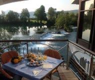 Река Una, Босния Стоковые Изображения RF