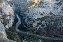 Река Verdon стоковые фотографии rf