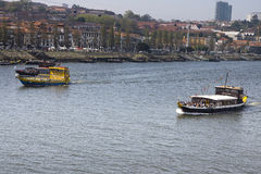 Река Vila Нова de Gaia Португалия Дуэро стоковое фото rf