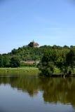 Река Viltava Стоковые Изображения RF