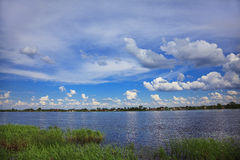 Река Volkhov стоковое фото rf