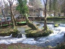 Река Vrelo около Bajina Basta стоковые изображения rf