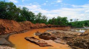 Река Weito, Эфиопия стоковое фото