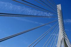 река yangtze моста Стоковое Фото