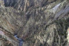 река yellowstone Стоковое фото RF