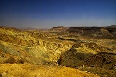Река Zin в пустыне Стоковое Изображение RF