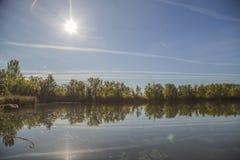 Реки в природе Стоковые Фото