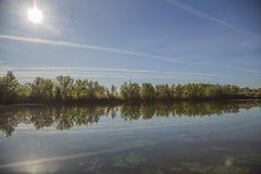 Реки в природе Стоковое фото RF
