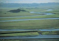 Реки в Тибете стоковая фотография