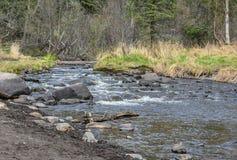 Реки, озера и океаны Аляски & Канады Стоковые Фото