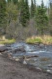 Реки, озера и океаны Аляски & Канады стоковые изображения