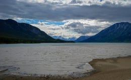 Реки, озера и океаны Аляски & Канады Стоковые Изображения RF