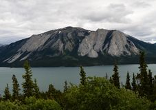 Реки, озера и океаны Аляски & Канады Стоковое Изображение
