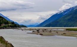 Реки, озера и океаны Аляски & Канады стоковое фото rf