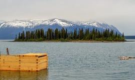 Реки, озера и океаны Аляски & Канады стоковые фотографии rf