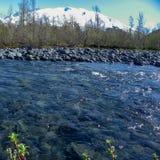 Реки, озера и океаны Аляски & Канады стоковое изображение rf
