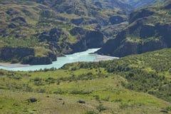 Реки Патагонии, Чили стоковое фото