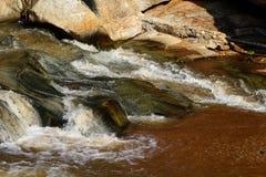 Реки, потоки, естественная красота в Таиланде Стоковая Фотография