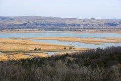 реки прерии озер стоковое изображение