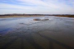 реки прерии озер стоковое фото