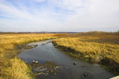 реки прерии озер стоковое фото rf