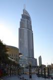 реклама Дубай зоны Стоковая Фотография