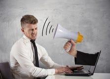 Реклама сети и принципиальная схема спам Стоковая Фотография