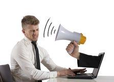 Реклама сети и принципиальная схема спам Стоковое Изображение RF