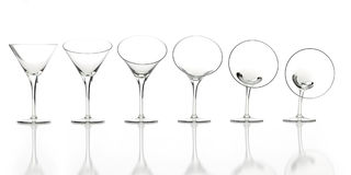 рекламировать белизну reflec гибких стекол Стоковые Изображения RF