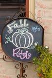 рекламировать внешнюю витрину магазина florist Стоковое Фото