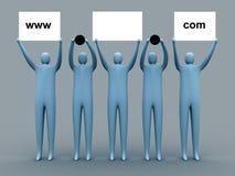 рекламировать домен Стоковая Фотография RF