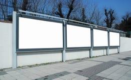рекламировать доски стоковые изображения rf